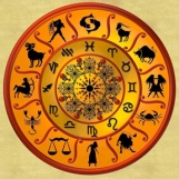 Astrology wheel